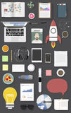 Icon set equipment lifestyle vector icon illustration Concept Royalty Free Stock Images