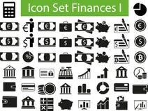 Icon Set Finances I Stock Photos