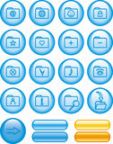 Icon Set – Folders (Vector) Royalty Free Stock Photos