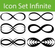 Icon Set Infinite Royalty Free Stock Image