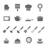 Icon set - kitchenware Royalty Free Stock Images