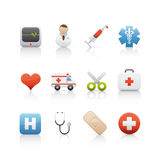 Icon Set - Medical and Pharmacy 3 Royalty Free Stock Image