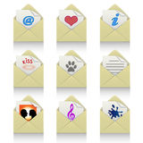 Icon set-Message Royalty Free Stock Photo