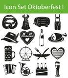 Icon Set Oktoberfest I Royalty Free Stock Images