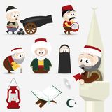 Icon set ramadan Royalty Free Stock Photo