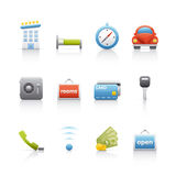 Icon Set - Real Estate Royalty Free Stock Photography