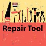 Icon set repair tools Stock Photos