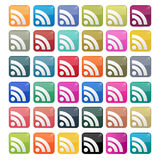 Icon Set RSS feed  Stock Images