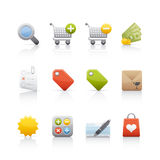 Icon Set - Shopping Royalty Free Stock Photography