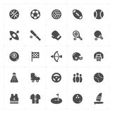 Icon set - Sport filled icon Stock Image