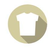 Icon set t-shirt illustrated Stock Image