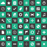 Icon set template Stock Image