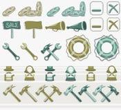 Icon_set Royalty Free Stock Photo