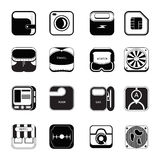 Icon set travel Stock Image