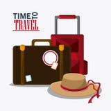 Icon set travel vacations trip Stock Photos