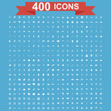Icon set, Universal website, Construction, industry, Business, Medical, healthy and ecology icons. Stock Image