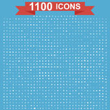 Icon set, Universal website, Construction, industry, Business, Medical, healthy and ecology icons. Royalty Free Stock Image