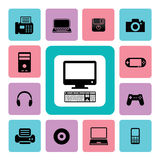 Icon IT Royalty Free Stock Photography