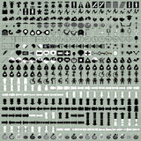 Icon set vector Royalty Free Stock Photography