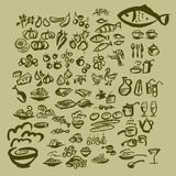 Icon set Royalty Free Stock Photography