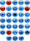 Icon Set Stock Image