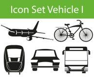 Icon Set Vehicle I Stock Photos