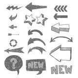 Icon set for web Stock Photography