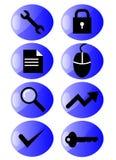 icon set web Стоковые Изображения RF