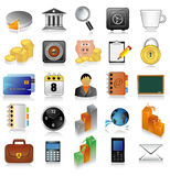 Icon set for web Royalty Free Stock Photo