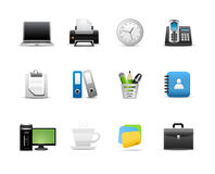 Icon set for web applications Stock Images