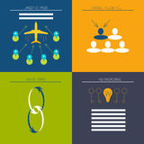 Icon set for web and search engine optimization Stock Photos