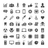 Icon set for website and app Stock Photography
