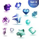 Icon set   for wesite, info graphic Stock Photo