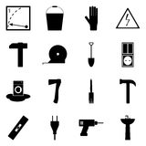 Icon set on a white background/ Icons refit/ Vector icon refit Royalty Free Stock Images