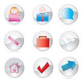 Icon_set10 Stock Photography