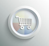 Icon shoping Stock Images