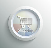 Icon shoping Royalty Free Stock Image