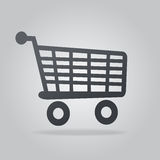 Icon shopping Royalty Free Stock Photo