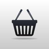 Icon of Shopping cart Stock Photos