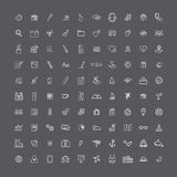 Icon sign graphic set collection Concept Royalty Free Stock Photo
