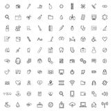 Icon sign graphic set collection Concept Royalty Free Stock Photography