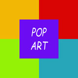 Icon sign for pop art Stock Photos