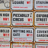 icon signal street     in london england europe old      transport Royalty Free Stock Photography