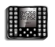 Icon of smart calculator, new look and design royalty free illustration