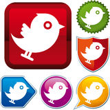Icon social media Stock Photography