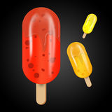Icon sorbet Royalty Free Stock Image