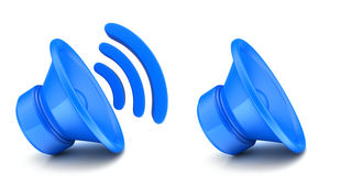Icon of sound Royalty Free Stock Images