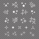 Icon sparkle line. Bright firework, decoration twinkle, shiny fl. Ash Royalty Free Stock Image