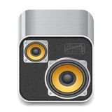 Icon for speakers Royalty Free Stock Photos