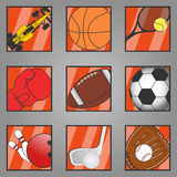 Icon sports Royalty Free Stock Image